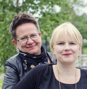 Åsa o Ulrika porträtt