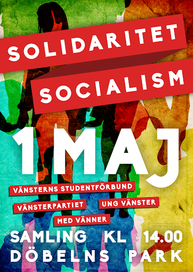 1 maj affisch